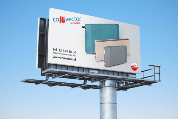projekty billboardów i tablic informacyjnych