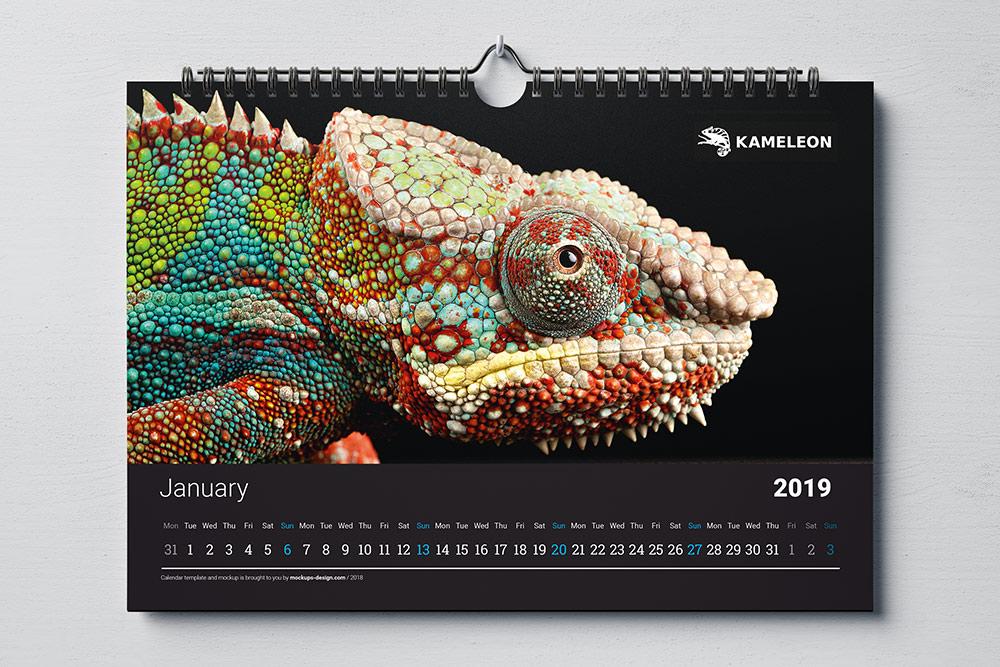 projekty kalendarzy